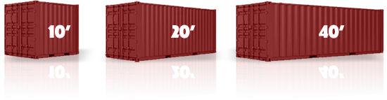 Residential onsite storage containers
